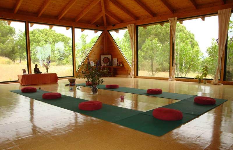 Decorar Sala Para Yoga ~ Workspaces  Salas  Quinta da Calma