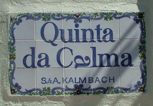 Sign Quinta da Calma