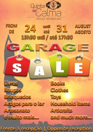 cartaz GARAGE SALE